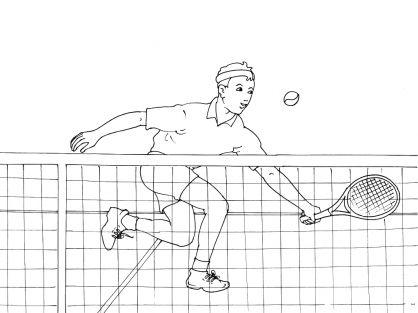 Veel kleurplaten tennis tennis sport pinterest - Coloriage gulli fr ...