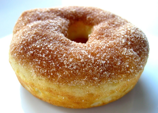 Baked Cinnamon-Sugar Donuts | Breakfast | Pinterest