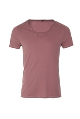 CRAFTED LIOTTA SCOOP NECK TEE RED  Republic  Guide price: £8