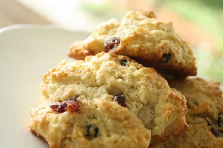Meyer lemon, cranberry, blueberry scones | Cookies, brownies and such ...