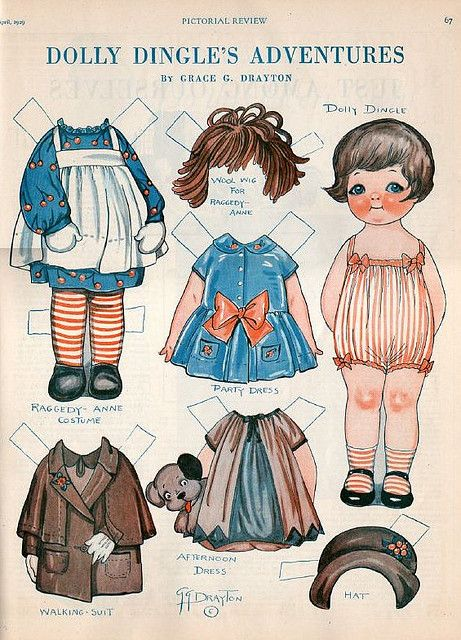 Dolly Dingle's Adventures by cluttershop, via Flickr