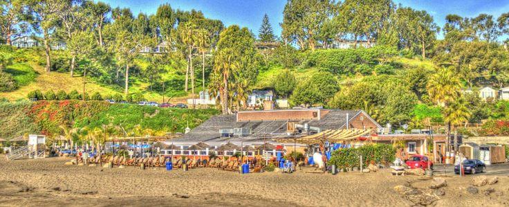 the beach cafe paradise cove malibu i travel pinterest