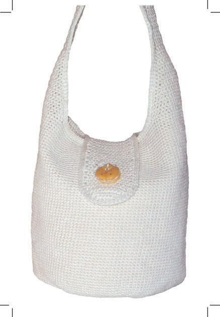 Sling Bag Crochet Pattern : Sling Bag to Crochet C3.3 9 x 12 crochet in sport/4ply #2 yarn ...