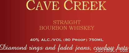 Cave Creek - Straight Bourbon Whiskey