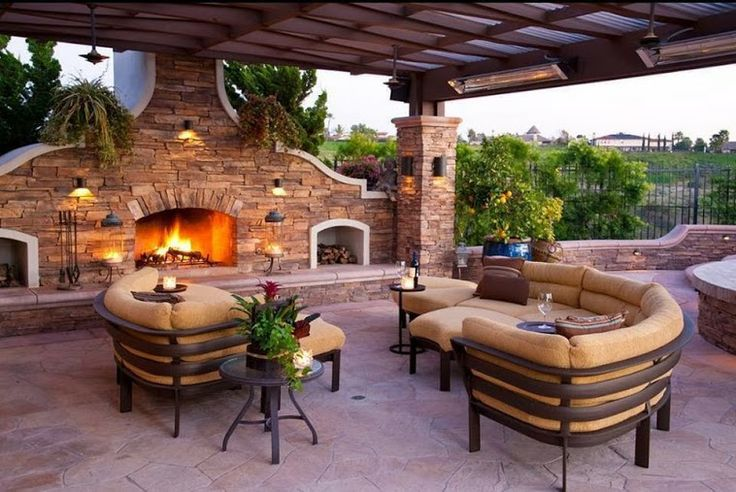 Outdoor Entertaining Space Dream Home Pinterest
