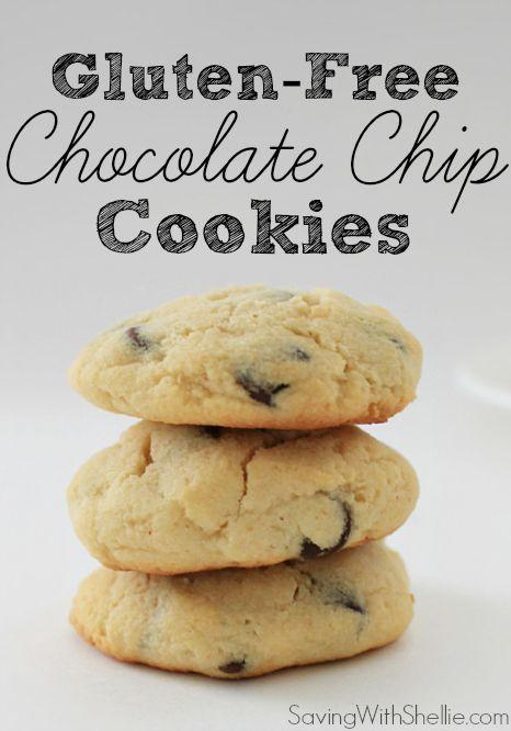 Gluten free Chocolate Chip Cookies #glutenfree