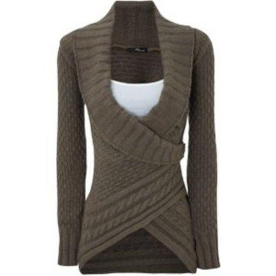 Cute wrap sweater