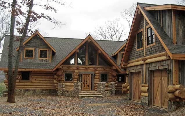 Beautiful Log Homes Pinterest