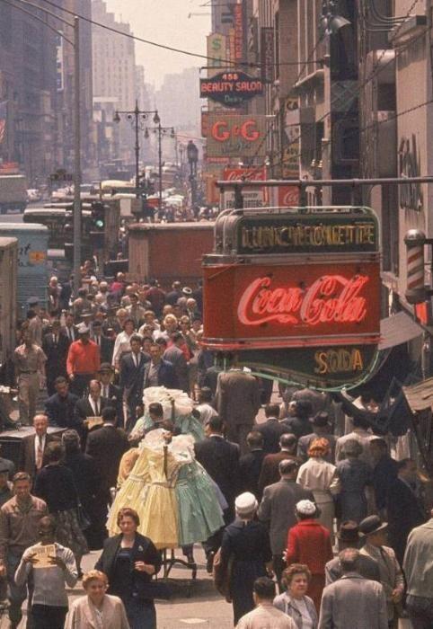 NYC. Manhattan. 1960