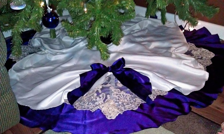 This wedding party dresses christmas tree skirts and tree skirts