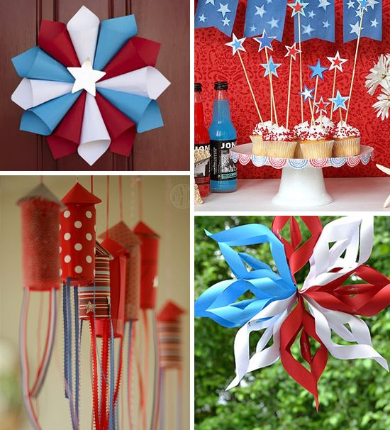 Patriotic decor how to make fabulous fourth of july for 4th of july party decoration