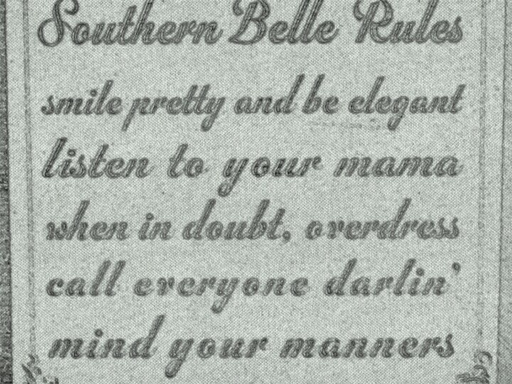 Southern Belle Rules