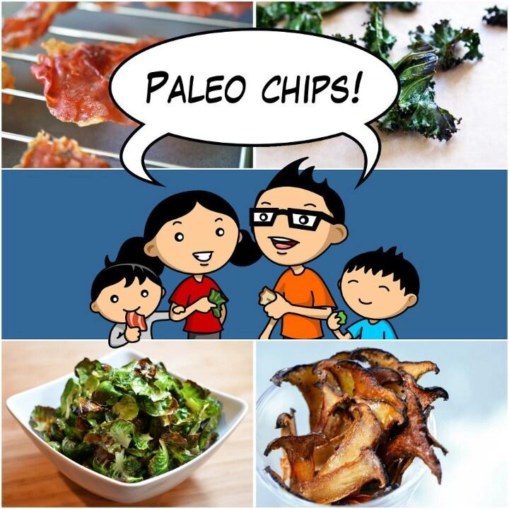 Paleo chips | Recipes | Pinterest