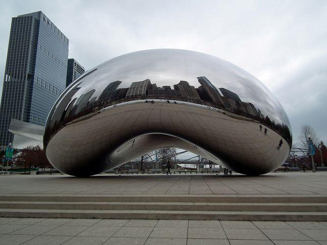 Anish Kapoor  Cloud Gate  quot The Bean quot   2004-2006  A Monumental Sculpture    Cloud Gate By Anish Kapoor