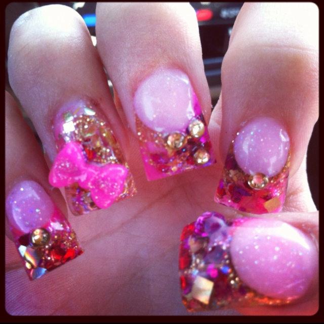 valentine's day nail art pinterest