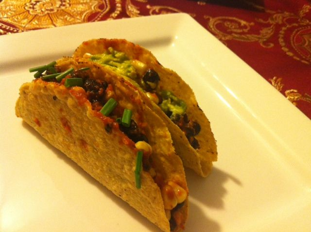 Black bean and corn tacos :) | dinners. | Pinterest