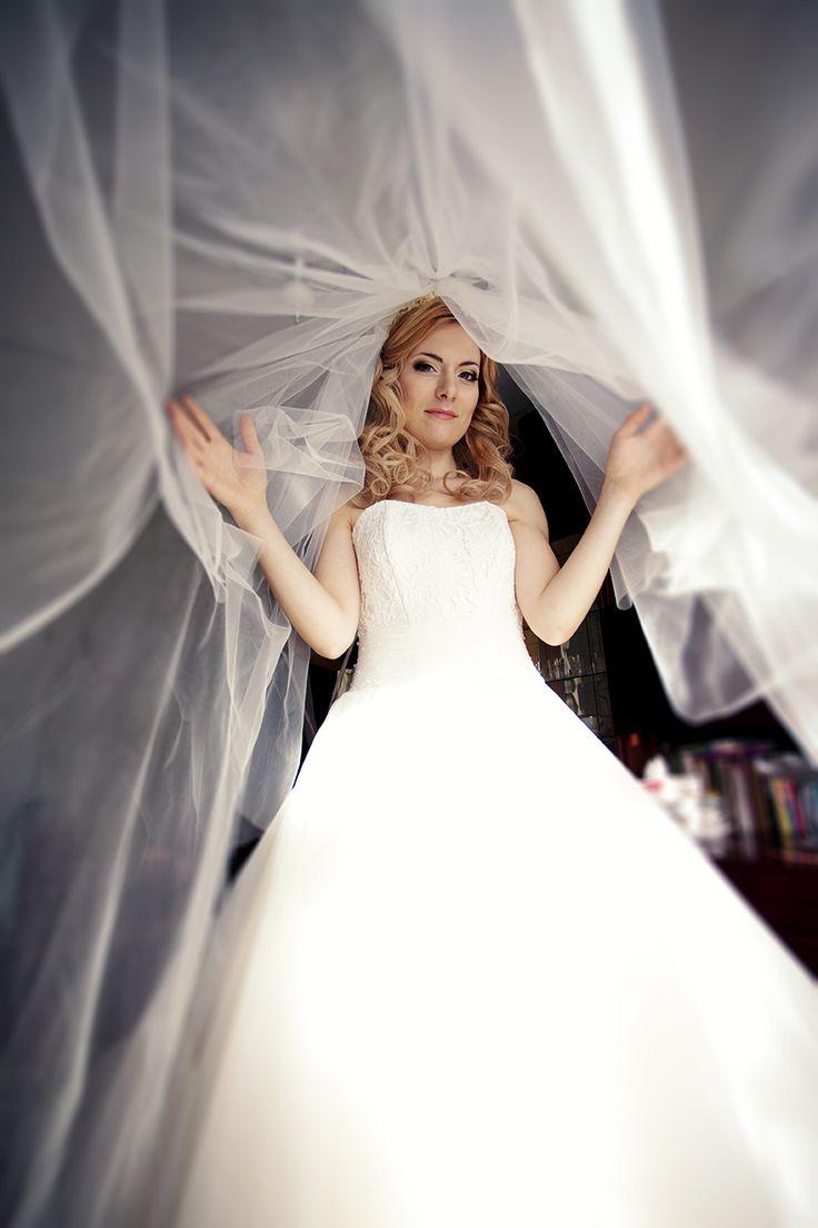 Фата для невесты для свадьбы
