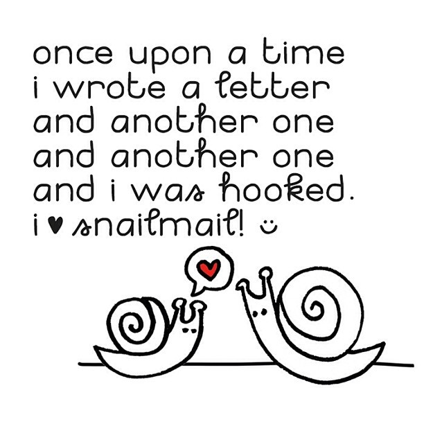 I ♥ snailmail.