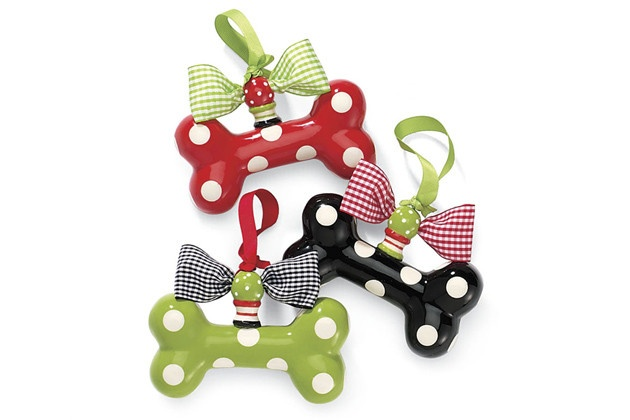 Dog bone ornaments holiday christmas pinterest for Dog bone ornaments craft