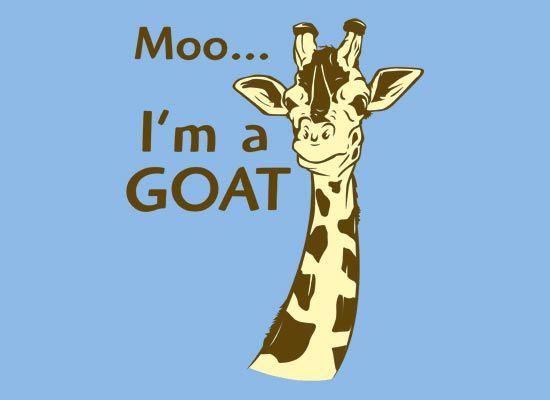 I'm a goat