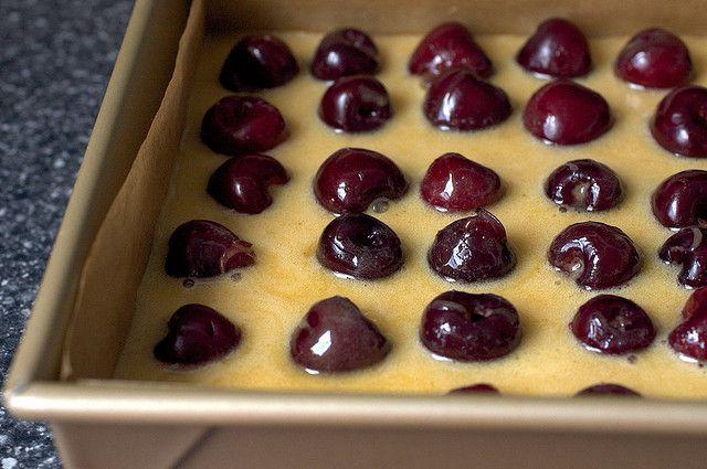 Cherry Brown Butter Bars   Smitten Kitchen