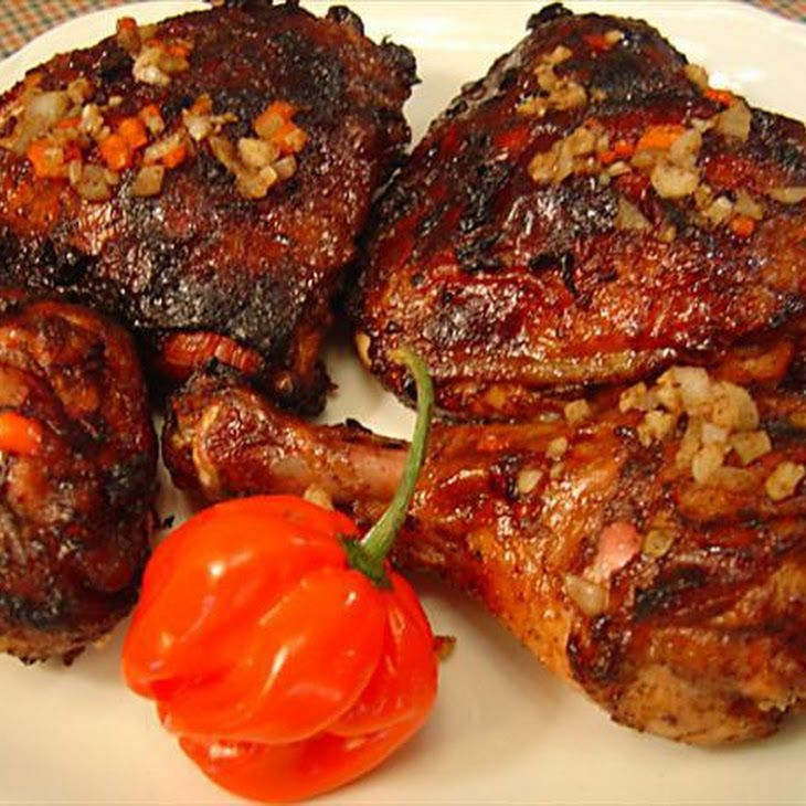 Jamaican Jerk Chicken for Two | Jerk Chicken A Yah Suh Nice | Pinter ...