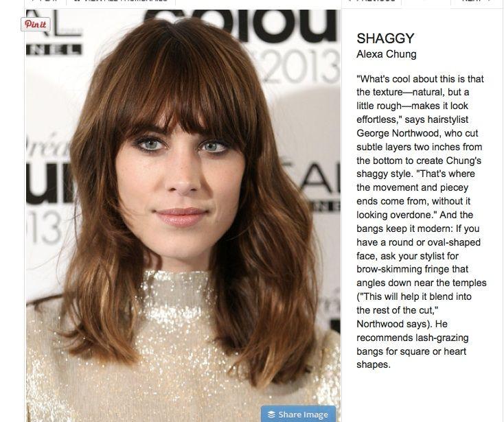 shaggy long bob | hair | Pinterest