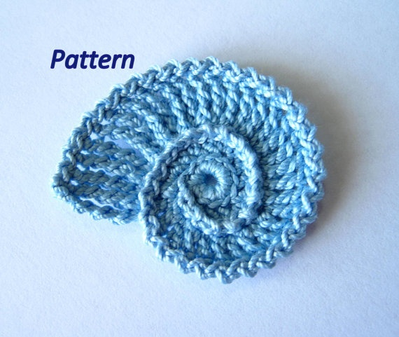 Seashell Knitting Pattern : Sea Shell Crochet Pattern