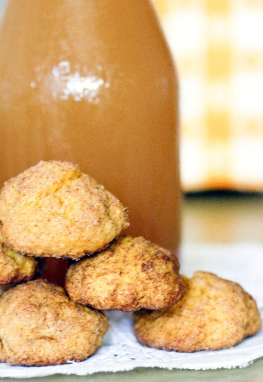 Pumpkin Snickerdoodles | Sweets for My Sweet Tooth | Pinterest