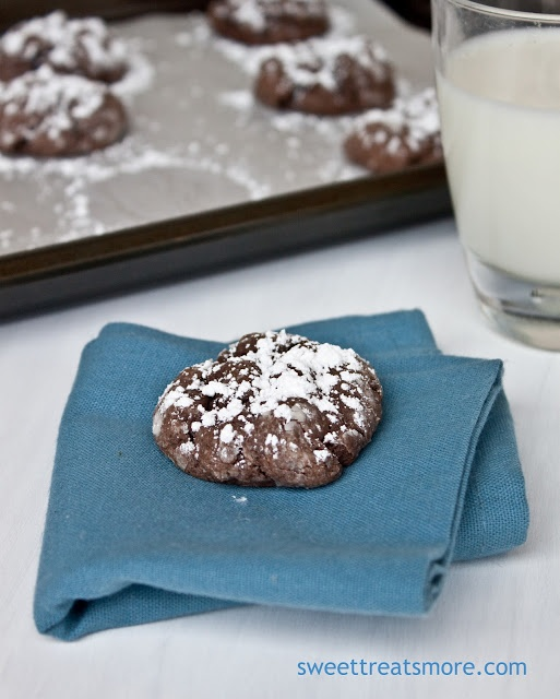 Sweet Treats and More: Gooey Chocolate Butter Cookies