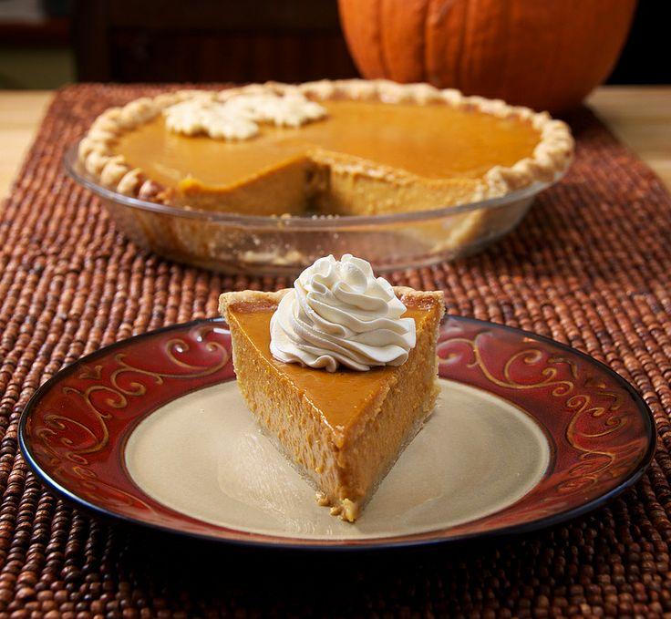 Maple-Bourbon Pumpkin Pie | All Pies | Pinterest