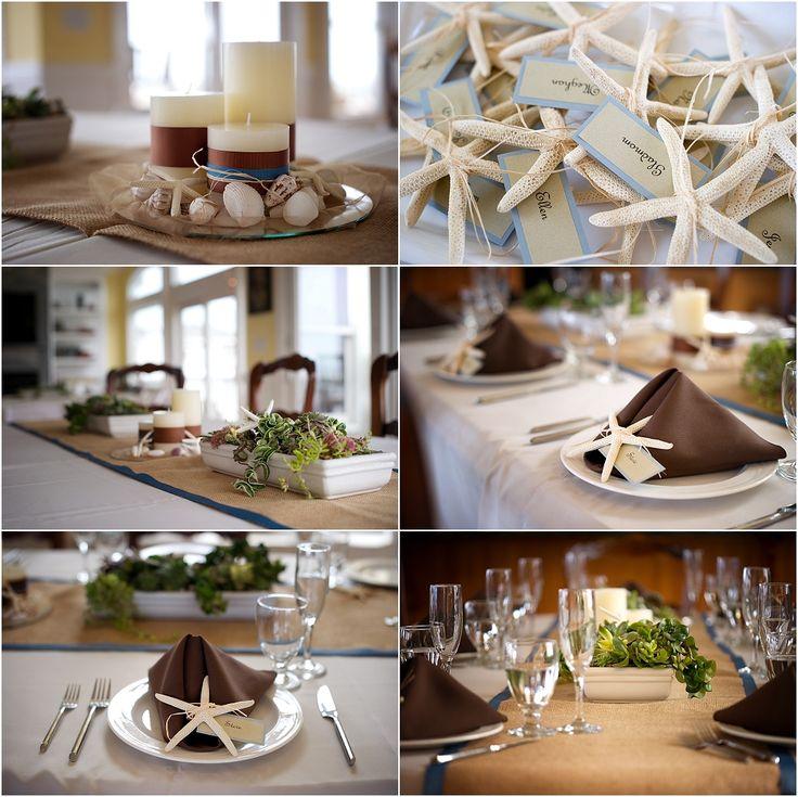 Beach wedding decorations