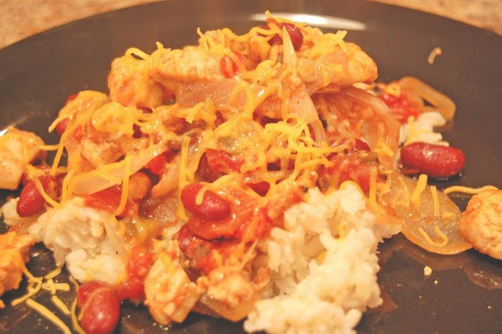 Southwest Chicken and Brown Rice Recipe | Chicken | Pinterest