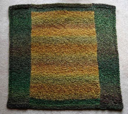 Knitting - Baby Knitting Patterns - Baby Blocks Blanket