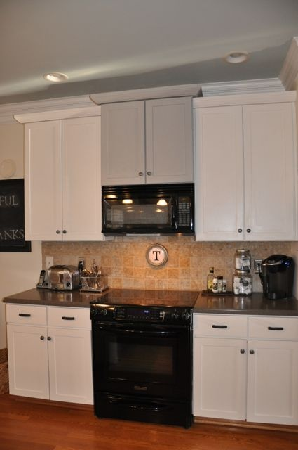 Pin by lizzie chambers on for the home pinterest for Annie sloan painted kitchen cabinets