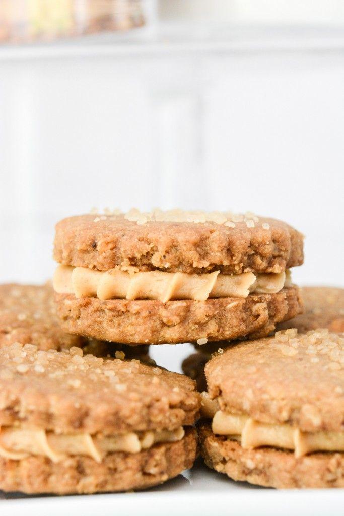 Peanut Butter Sandwich Cookies | Sugar cookies | Pinterest