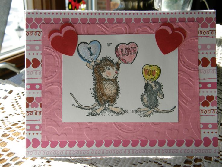 valentine's day cards with animals