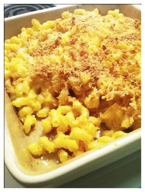 cheese mac cheese with soubise recipe food republic creamy baked mac ...