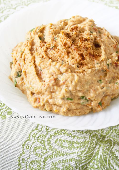 Sun-Dried Tomato Hummus | My Healthy Recipes | Pinterest