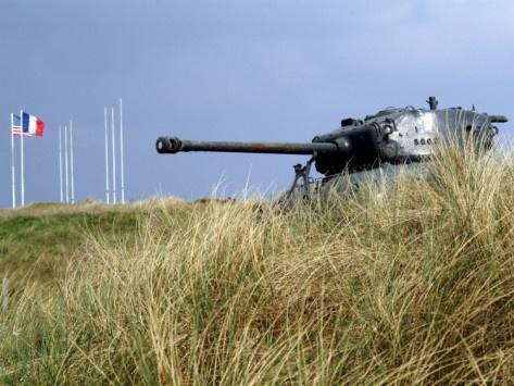 d-day landing tanks