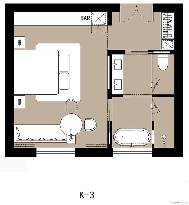 hotel plan guestroom layout pinterest. Black Bedroom Furniture Sets. Home Design Ideas
