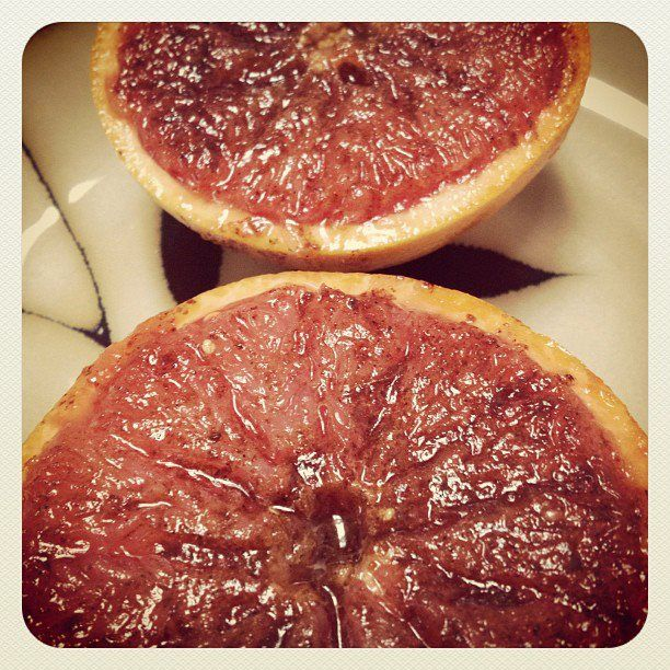 The Butterfly Papers: Broiled Grapefruit | Recipes | Pinterest
