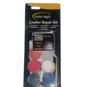 leather repair kit by leather magic case pack 3 leather repair kit by