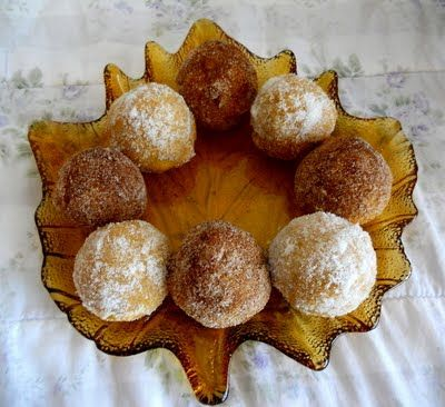 ... some chai spice for these Pumpkin Donut Muffins. The result? Delish