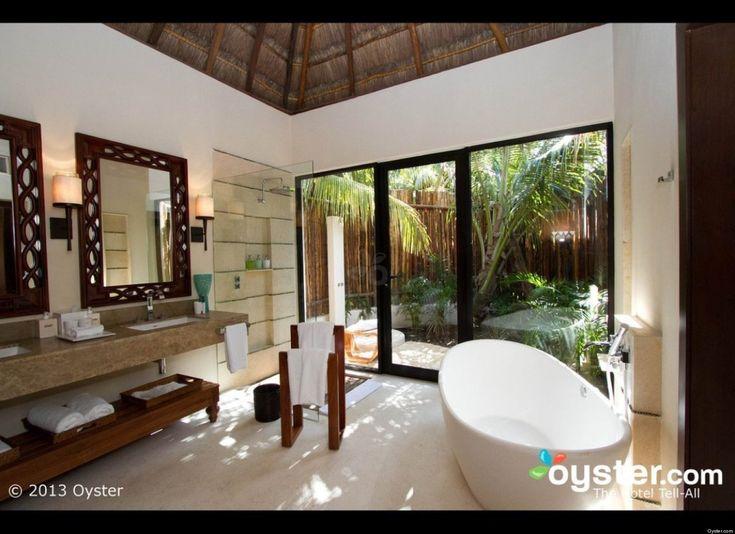 Caribbean decor bathroom tropical pool vacation and for Caribbean bathroom ideas