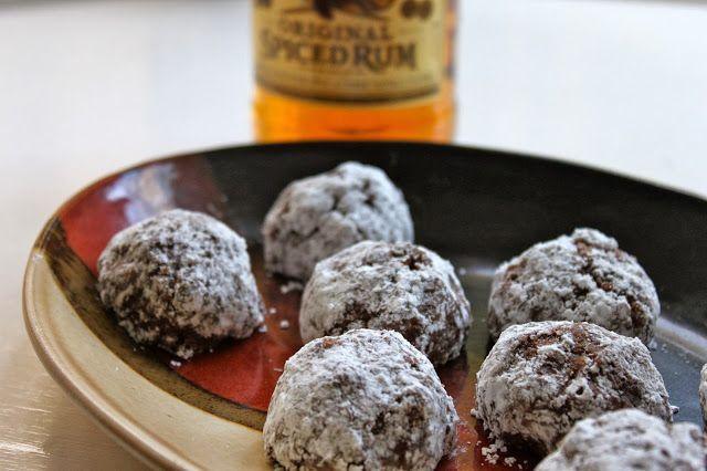Rum Balls | Fun Dessert Recipes | Pinterest