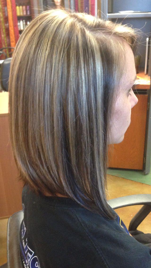 Lowlights : lowlights pintetest dark brown hairs lowlights pintetest to download ...