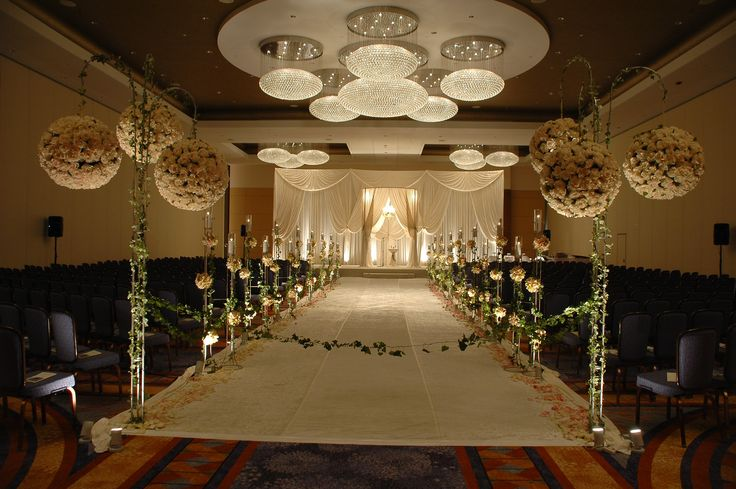 Elegant Wedding Ceremony Decorations : Elegant wedding ceremony decoration