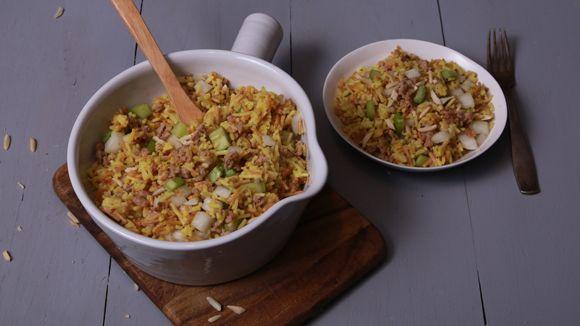 ... sausage is browned. Next, stir in Knorr® Rice Sides™ - Chicken