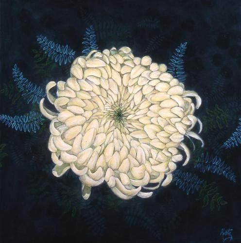 Lori Beth Katz - Mum (this is one of the prettiest Chrysanthemum I have seen)